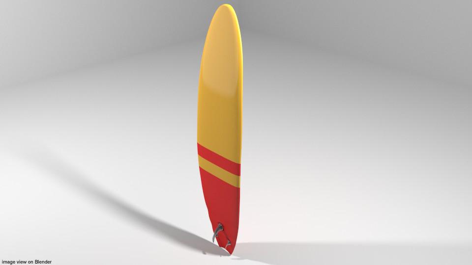 3D board surfboard
