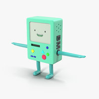 3D bmo model