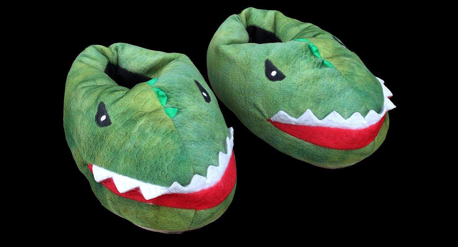 retopology kids slippers 3D