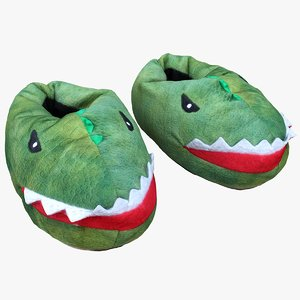 retopology kids slippers 3D