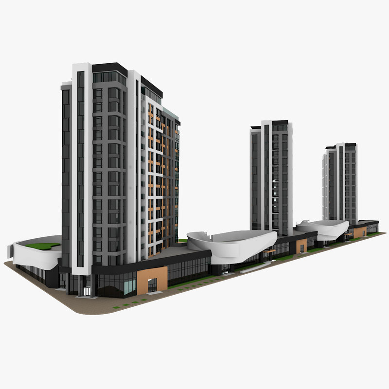 residential house apartment 3D model