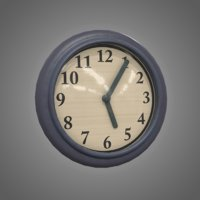 Wall Clock - PBR Game Ready