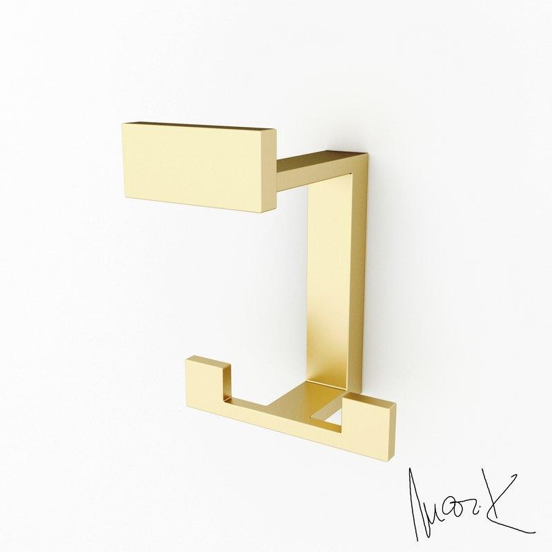 hook 2 peg - 3D
