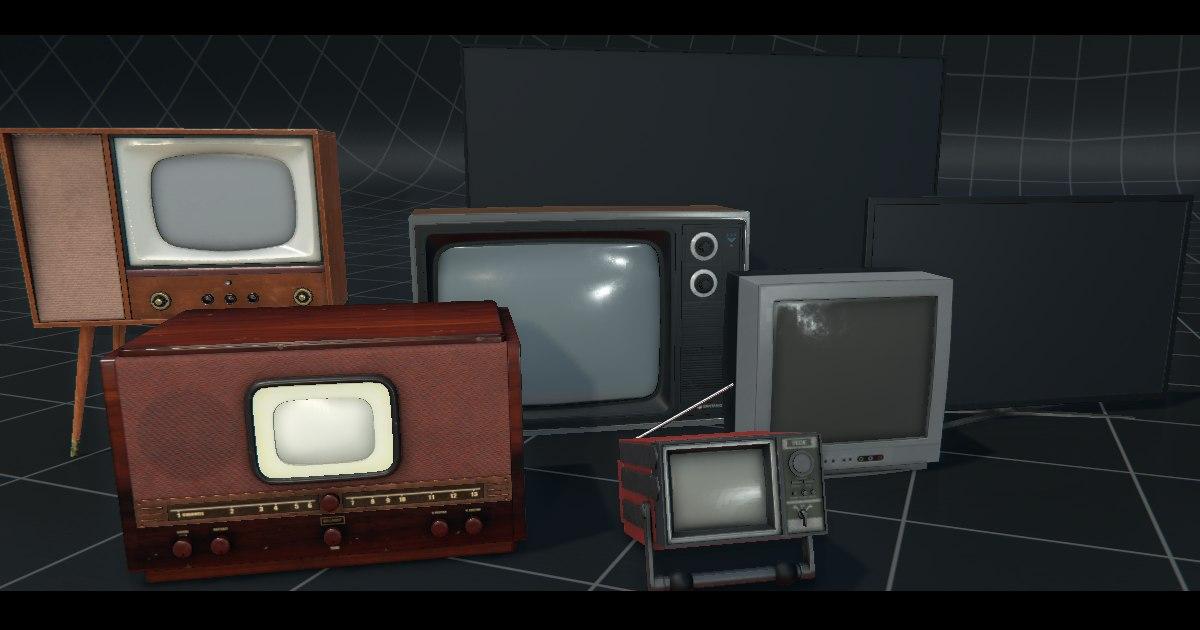 3D tv pack model