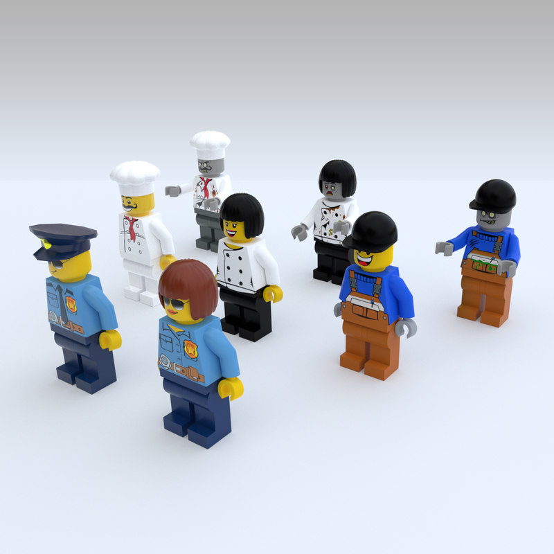 Game Ready Lego Characters