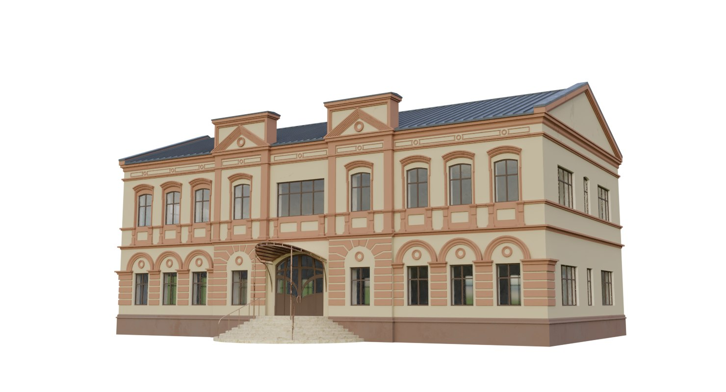 house old 3D