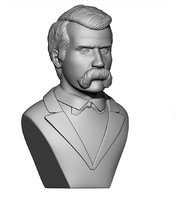 3D print friedrich nietzsche model