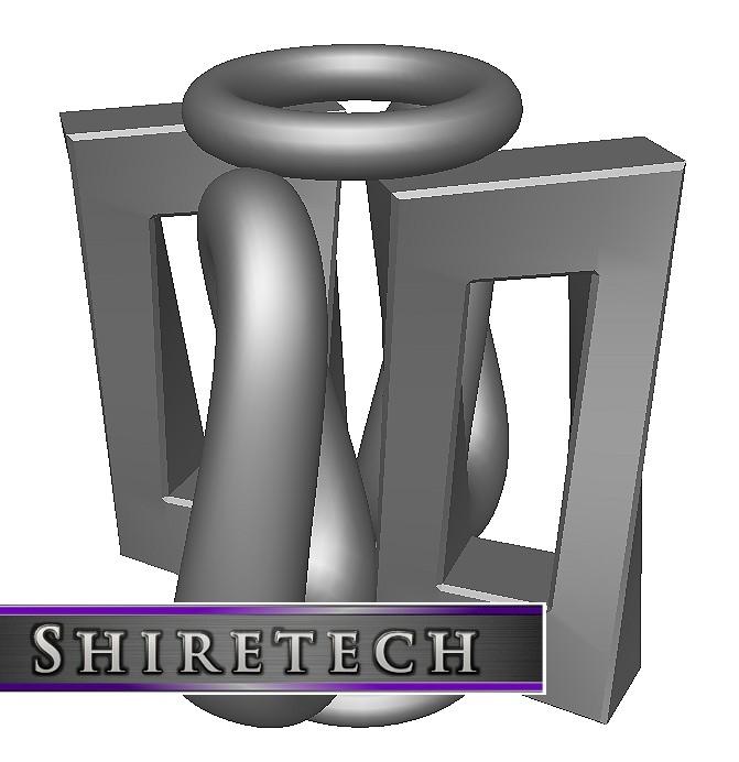 metal art sculpture 18 3D model
