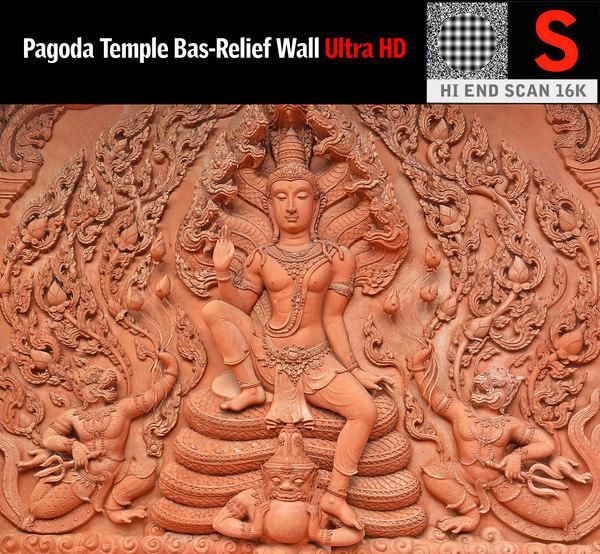 ancient temple model