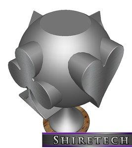 3D metal art sculpture 23