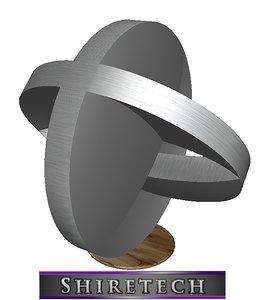 metal art sculpture 25 3D model