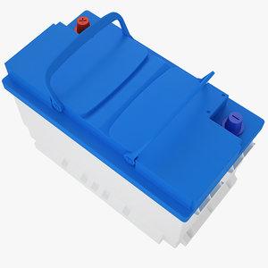 car battery 3D model