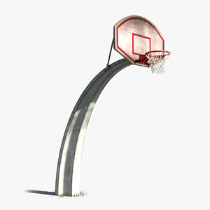 basketball basket 3D model