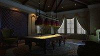 Royal billiard room Scene