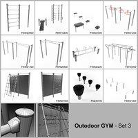 3 - gym set model