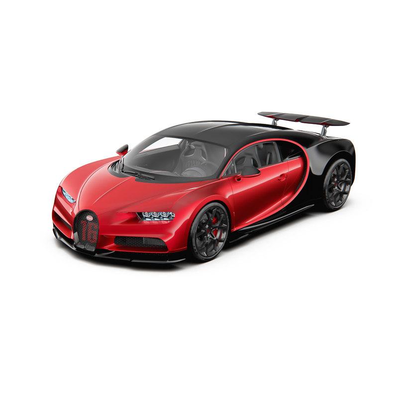 Sport chiron bugatti 3D model - TurboSquid 1268505