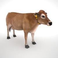 jersey cow 3D model