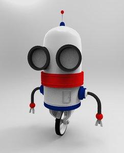 3D robot 3 d