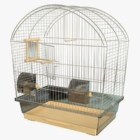3D realistic bird cage