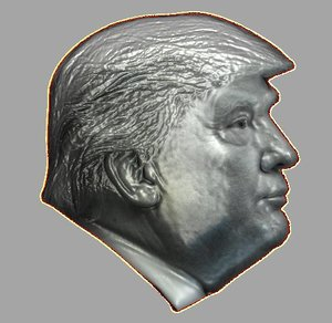 3D relief cnc model