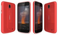 3D nokia 1 warm red