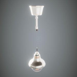 3D lamp modern disign model