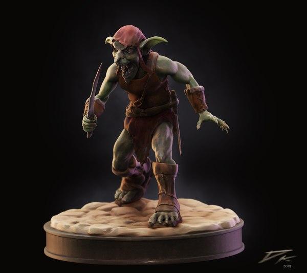 goblin print 3D