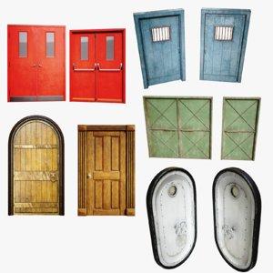 3D doors pack games