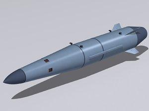3D kinzhal missile model
