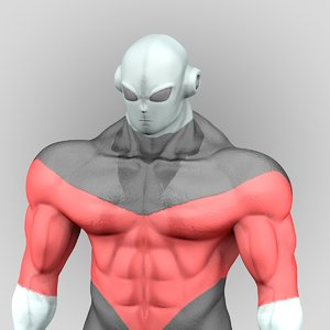 3D jiren dragon ball super