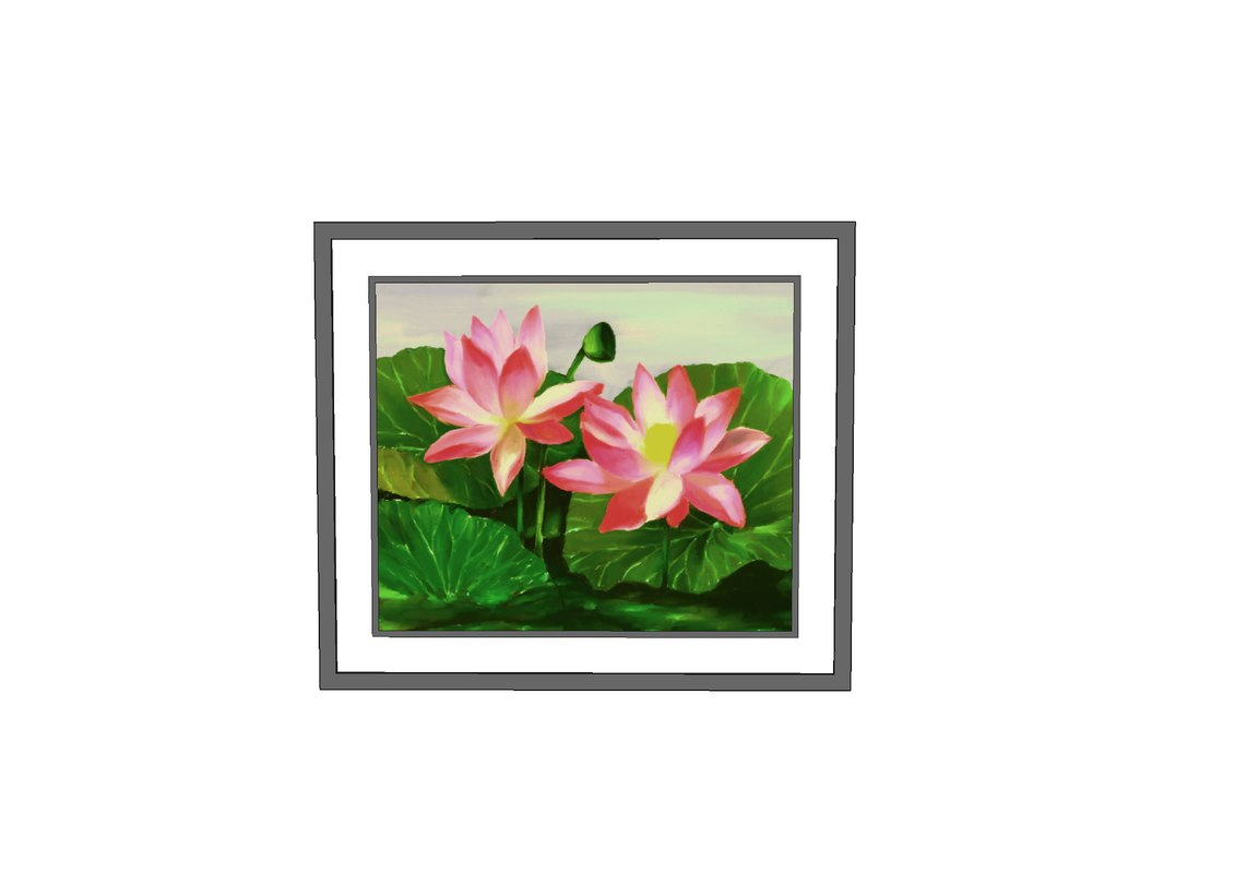 painting wall decoration 3D