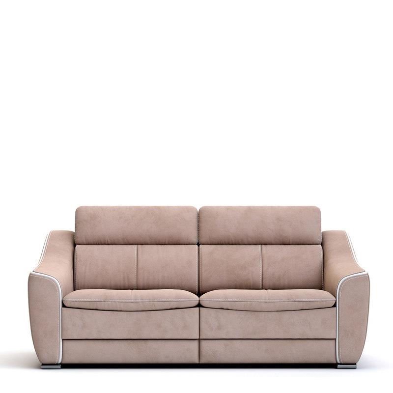 3D nieri dakota sofa model