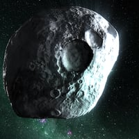 3D real world asteroid 4