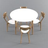 table mosso ii 3D model