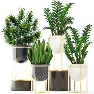 3D plants pots west