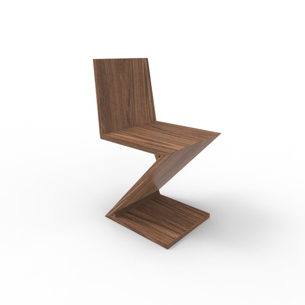 gerrit chair 3D model