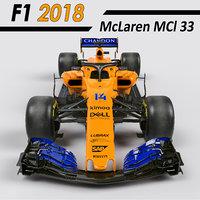 F1 McLaren mcl33 2018