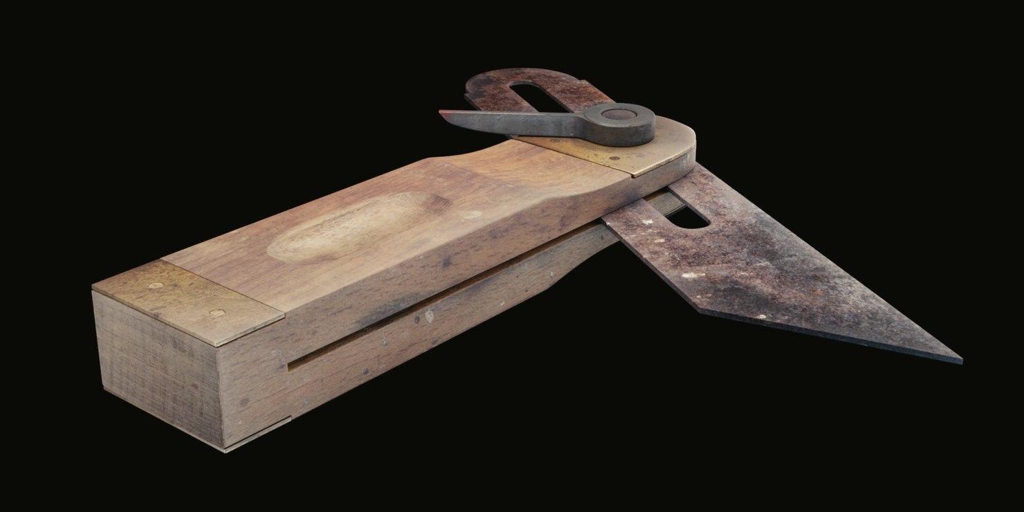 sliding bevel gauge model