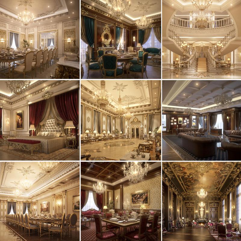 scenes 2 luxury 3D model
