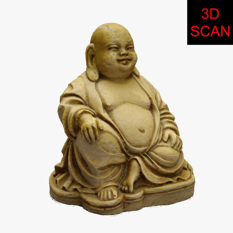 scan buddha statue 3D model