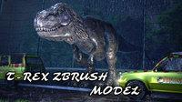 T-Rex Zbrush Model