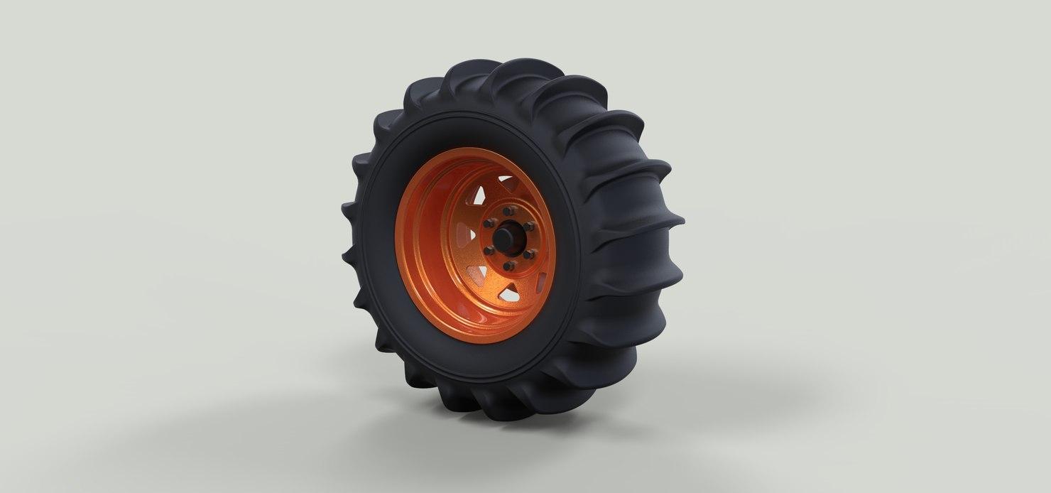 3D wheel dune buggy