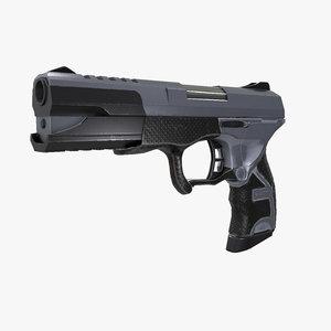 3D gun modeled real model