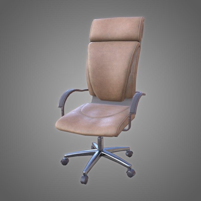 office chair - pbr 3D model