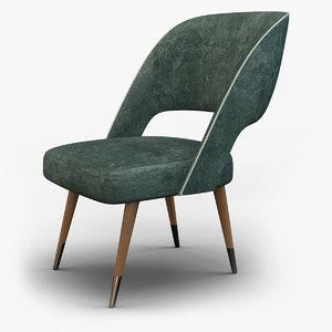 3D model ava chair