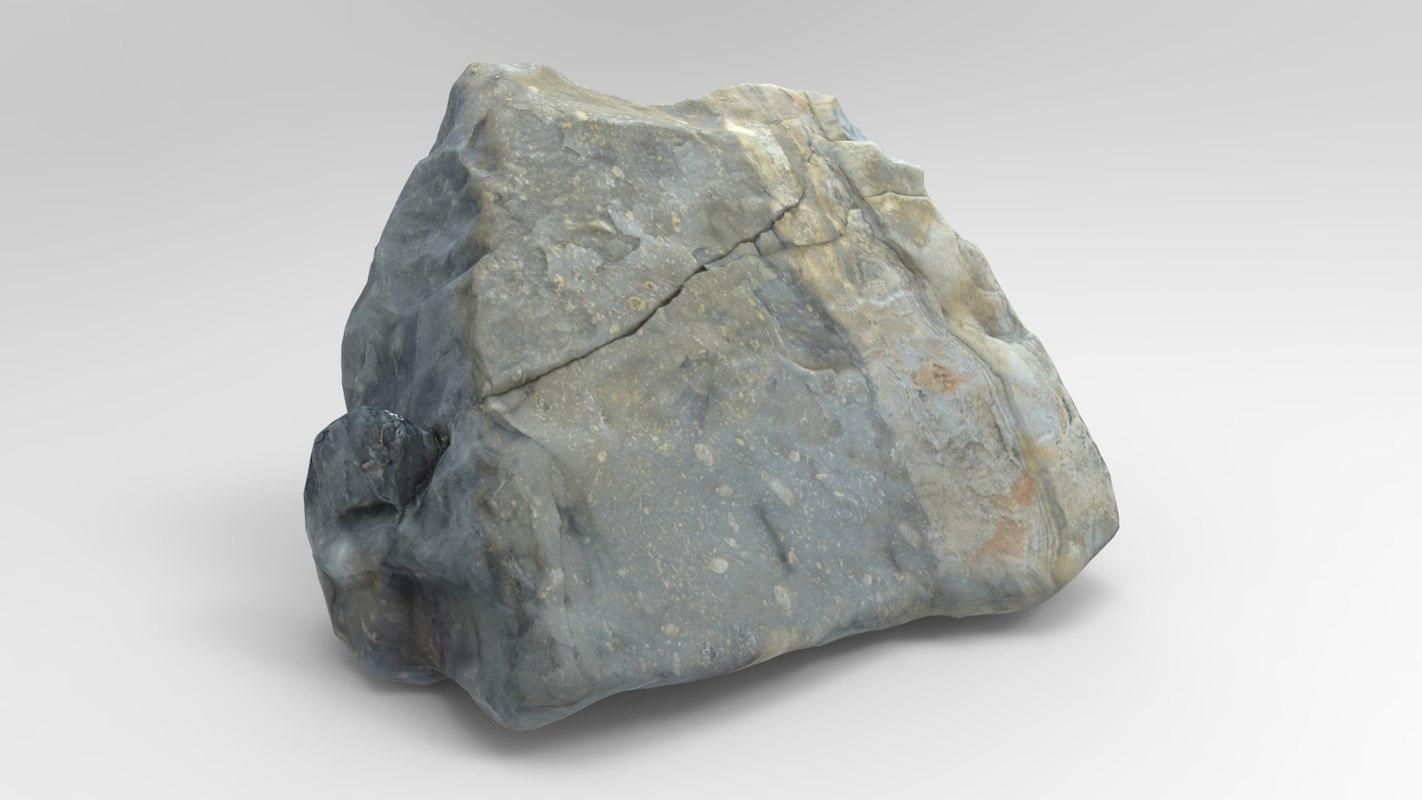 3D rock m1