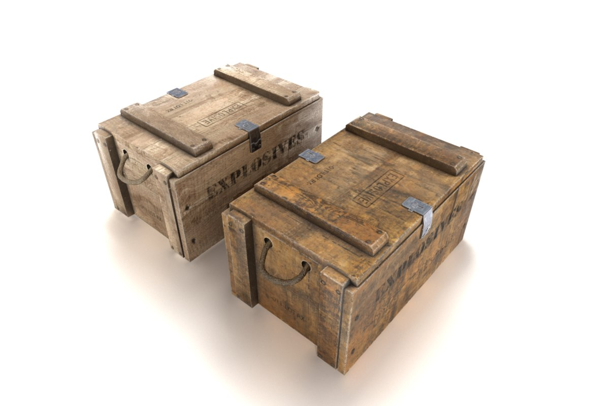 crate explosives 3D