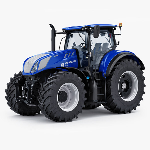 3D agricultural new holland t7 model