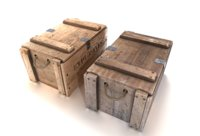 crate explosives 2 3D model