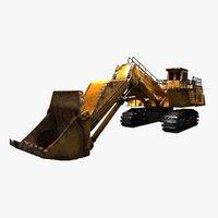 3D excavator